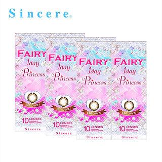 【6箱セット】フェアリー1DAY プリンセス ブラウン(10枚)